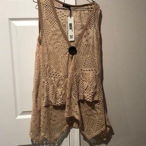 M- Crochet Vest